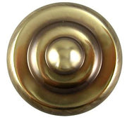 1 1/4 Inch Yukon Solid Brass Knob (Antique Brass Finish)
