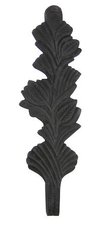 Solid Brass Curtain Tie Back - Oriental Leaves Style (Oil Rubbed Bronze Finish)