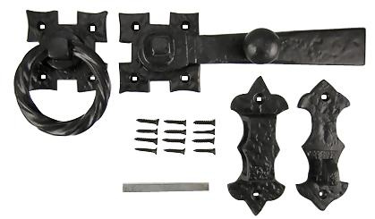 Solid Iron Colonial Style Door or Gate Latch