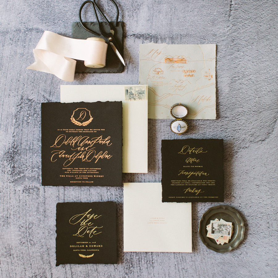 How to Styling Wedding Invitation Flat Lays at your 2020 Weddings