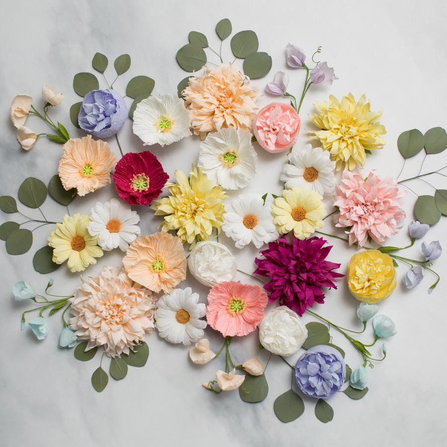 Handmade Paper Flowers - thestylingmat