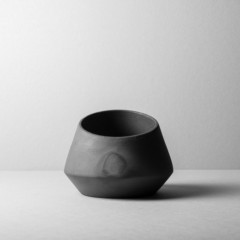 Rubble Interior Design Marketplace, Alguidar M Black Ceramic Pot by Bisarro Ceramics Designer