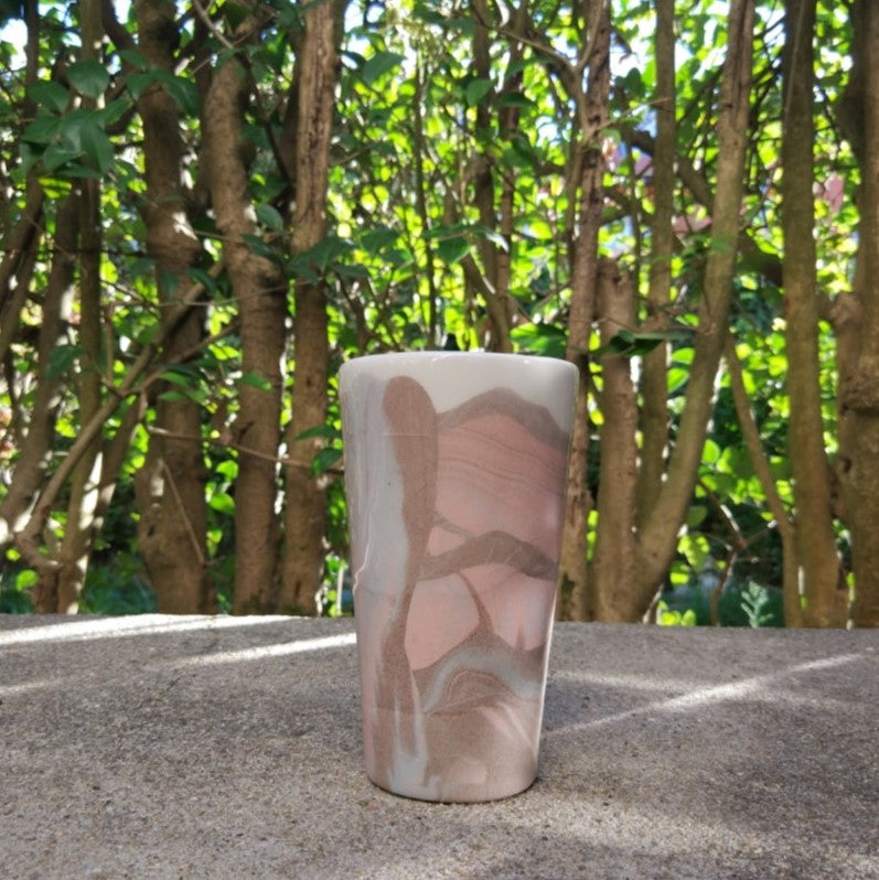 Rubble Interior Design Marketplace, Altare Tall Colored Porcelain Cup Niccolò Rossi