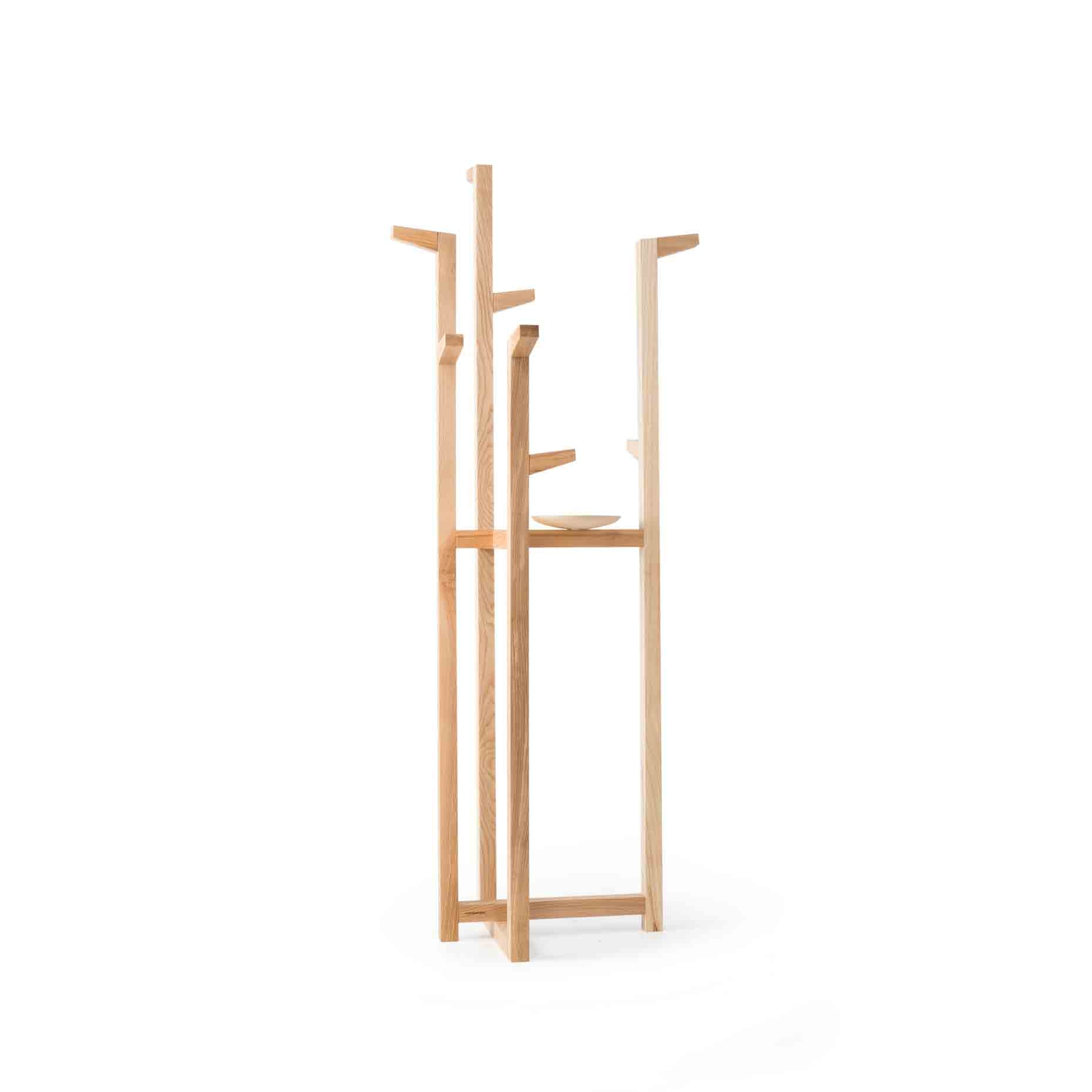 Rubble Interior Design Marketplace, Cla Ash Wood Coat Rack Ana Rodrigues Designer by Porventura