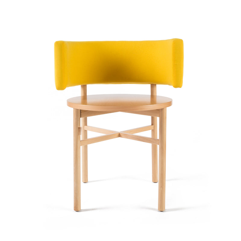 Rubble Inerior Design Marketplace, Dot Beech Wood Seating Chair by Ana Rodrigues Porventura