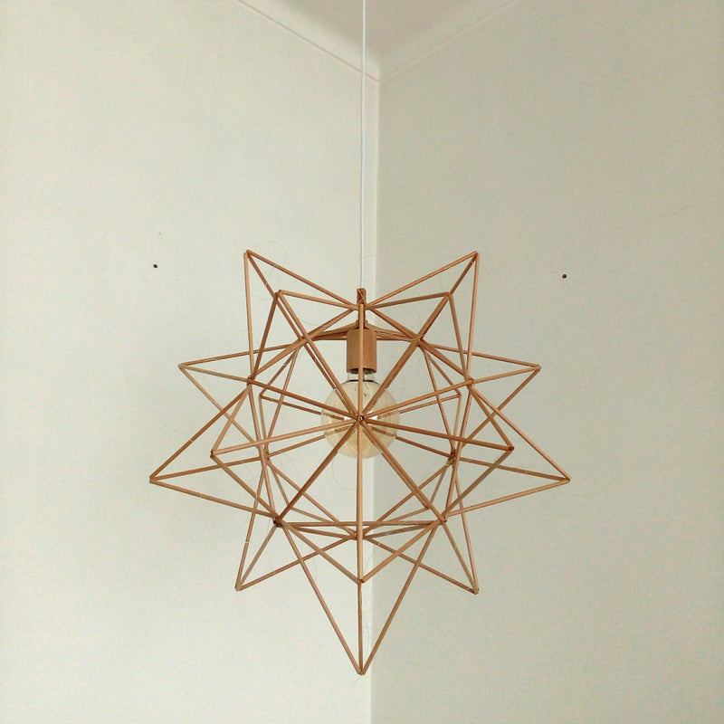 Rubble Inerior Design Marketplace, Estrela 16.5 Ceiling Lamp Flighting