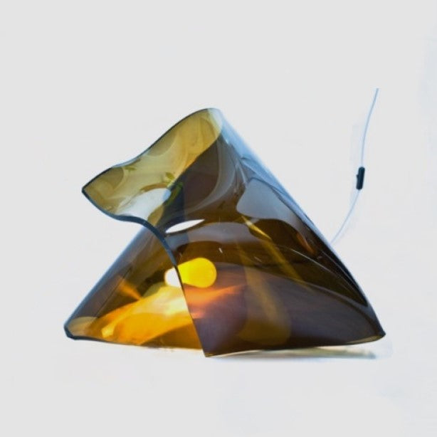 Glass/Plexiglass Table Lamp Lightpath by Designer Stavros Kotsakis for Rubble, Marketplace for Interior Design Creators