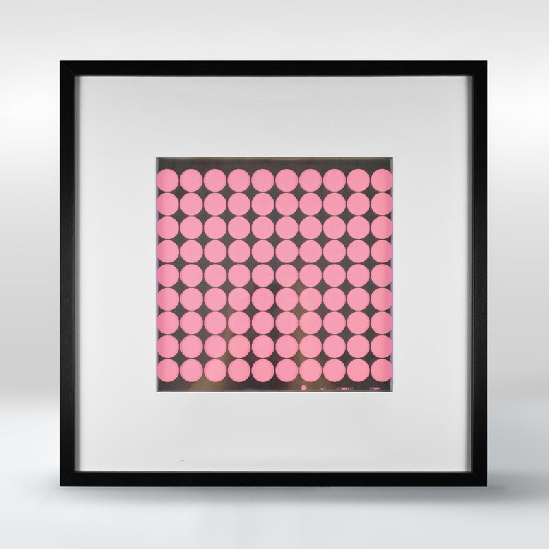 Wall Pink, Black and White Perforay No1 Lamp by Rubble Marketplace Designer Stavros Kotsakis