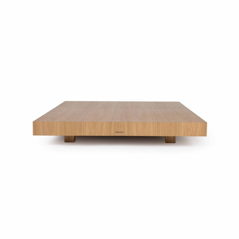 Rubble Interior Design Marketplace, Zeus Oak or American Walnut Side Table by Designer Filipe Ventura Porventura
