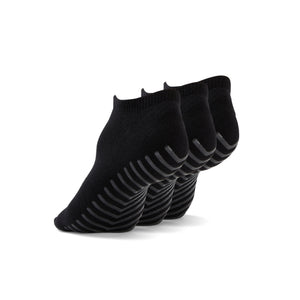 Gripjoy Women's Ankle Grip Socks Black 3-Pack - Gripjoy Socks