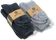 Fuzzy Socks with Grips for Men x4 Pairs