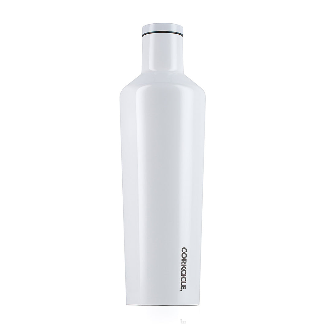 White Insulated Drinks Canteen- 750ml