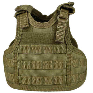 Mini Tactical Vest Koozie Can Cooler