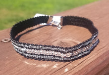 Black Sequined Choker