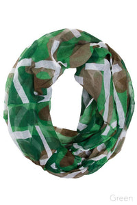 Camo and Cross Infinity Scarf