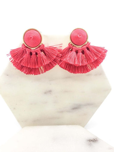 Multi Tassel Earrings