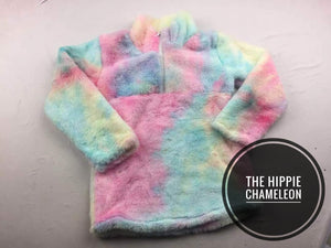 Cotton Candy Fleece Pullover *4XL Only*