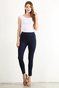 Navy Moto Jeggings