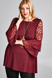 Double Bell Sleeve Tunic