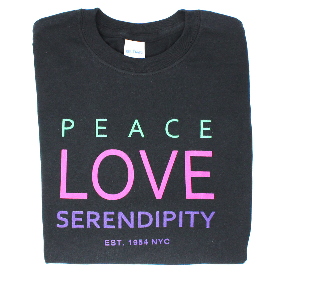 Super Soft Serendipity3 PEACE LOVE T-Shirt
