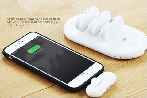 Portable Magnetic Powerbank (1 set) - Trendy Oasis