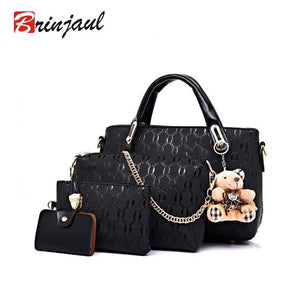 4 Piece Set Fashion Women Handbags - Trendy Oasis