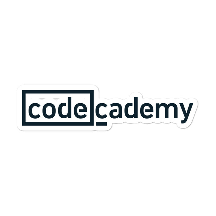 Codecademy Logo Sticker