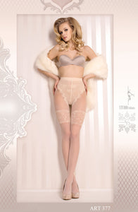 Ballerina 377 Tights Bianco in White