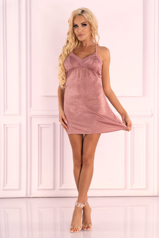 Luscious Pink Ressia Babydoll