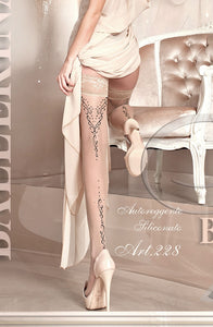 Ballerina 231 Embroidered Hold Up Skin