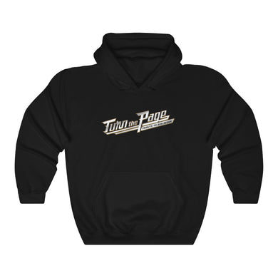 Turn The Page Chrome Logo Hoodie