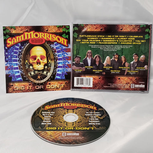 SMB - Dig It Or Don't CD - Autographed! Physical