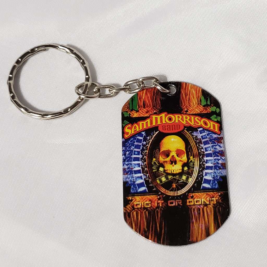 SMB - Sam Morrison Band Key Ring