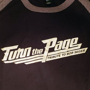 TTP - Turn The Page - Chrome Baseball T-Shirt