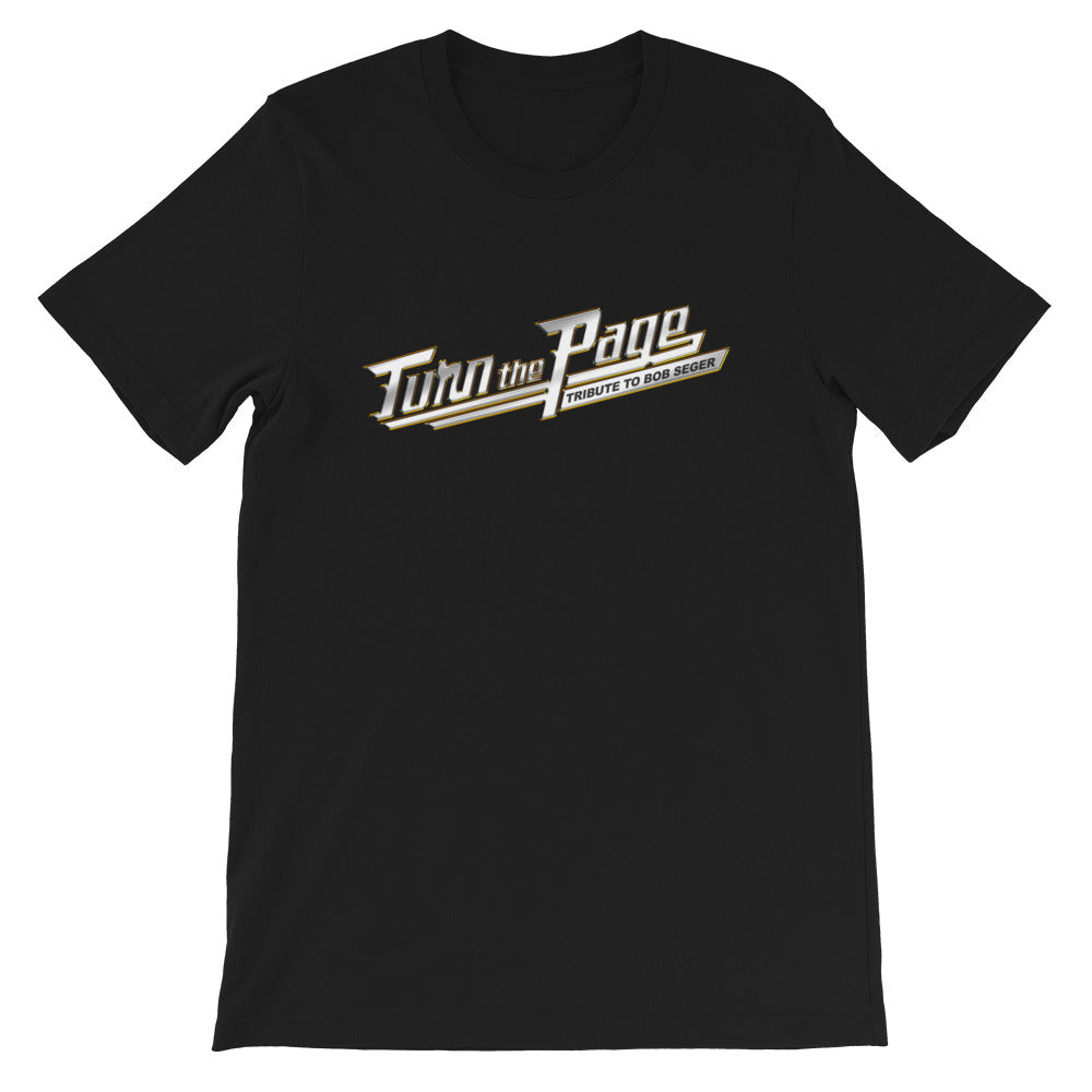 Turn The Page Logo - Unisex T-Shirt