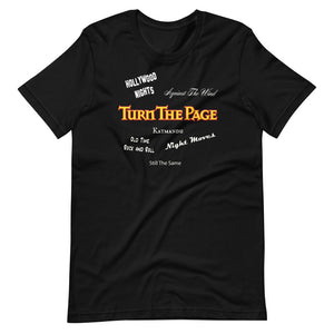 "Turn The Page ""Song Shirt"" Unisex T-Shirt"