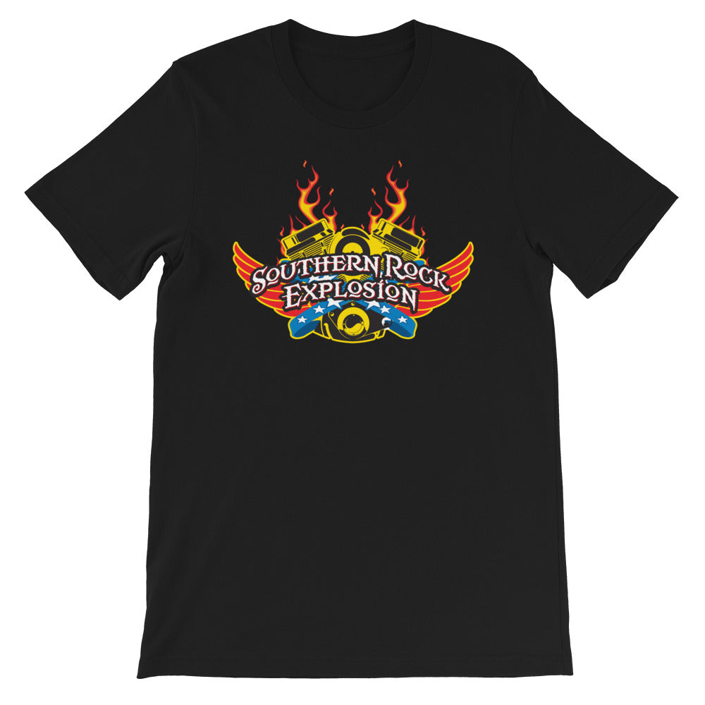 V Twin Southern Rock Explosion Unisex T-Shirt