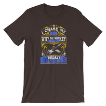 "Load image into Gallery viewer, ""Chase My Blues"" Unisex T-Shirt"