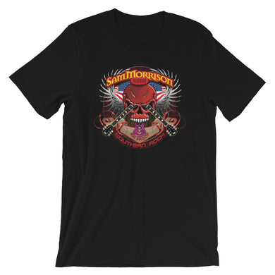 SMB Red Skull - Short-Sleeve Unisex T-Shirt
