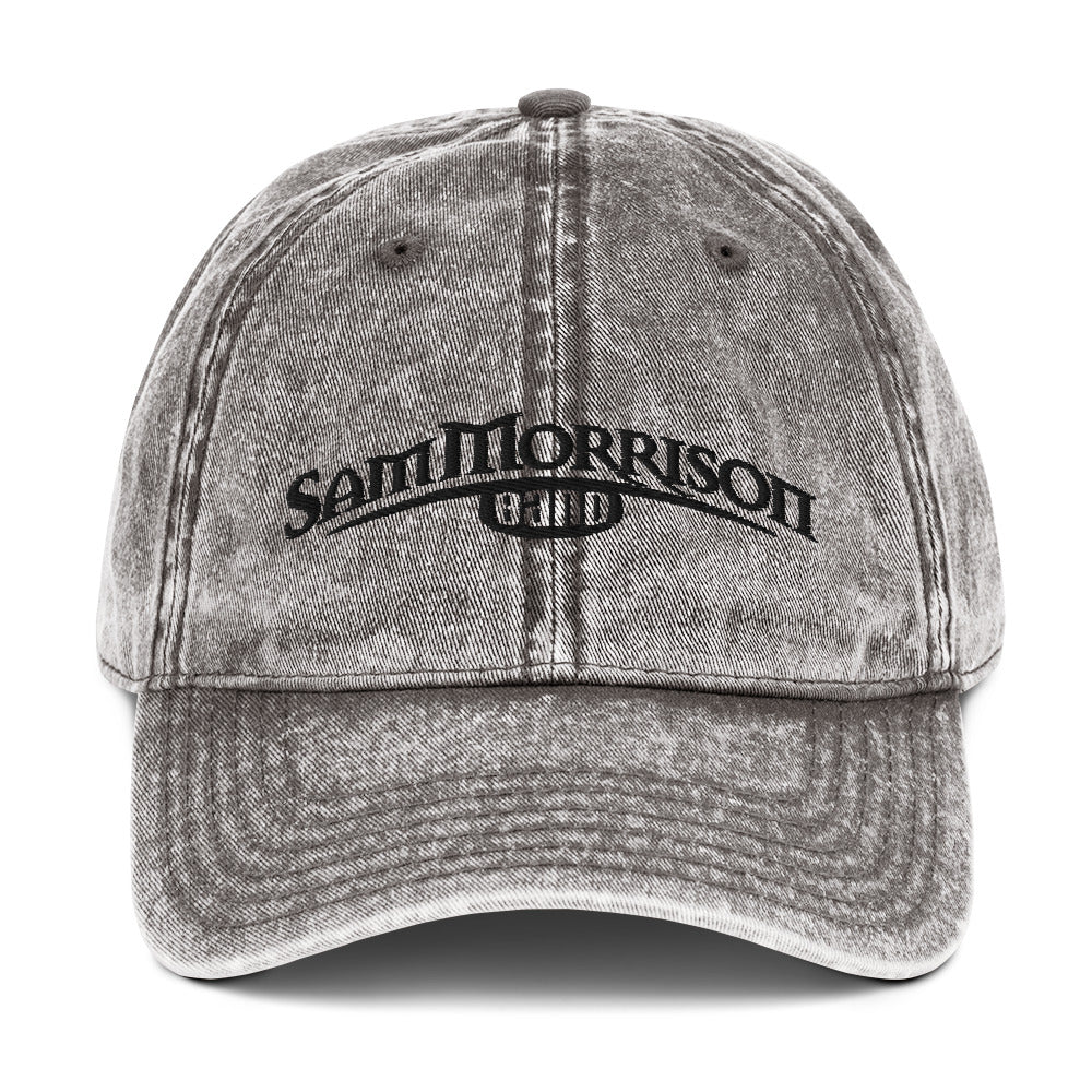 SMB Embroidered Vintage Cap (Grey)