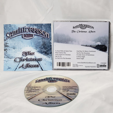 Sam Morrison Band - The Christmas Album - Autographed Physical CD
