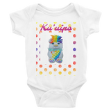 Rainbow Polkadot Ku'uipo Infant Bodysuit