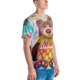 Mahalo Bear Men's Allover Print T-shirt