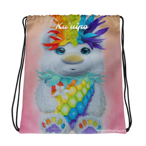 Ku'uipo (Sweetheart) Drawstring bag