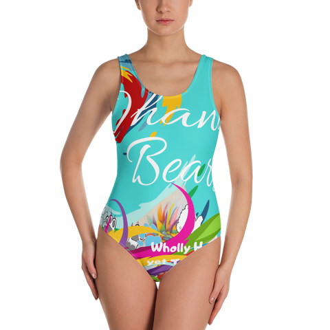 Ohana Bears Catch The Wave One-Piece Swimsuit