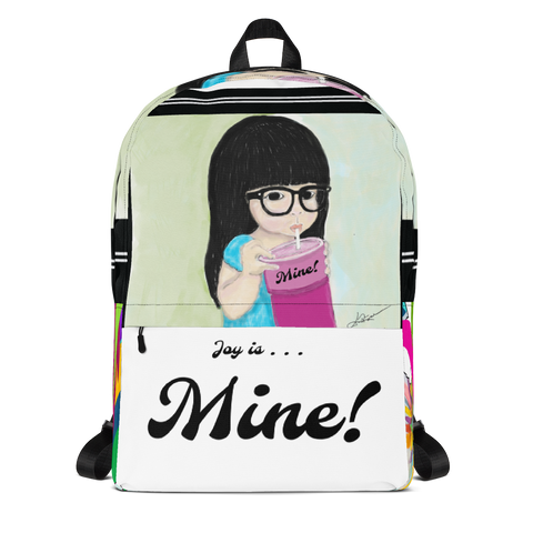Joy is Mine! Ohana Bears Backpack