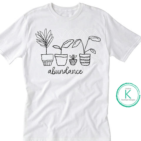 Abundance Plants digital download