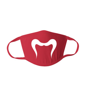 Cute Simple Handlebar Mustache Graphic - Reusable Adult Face Mask