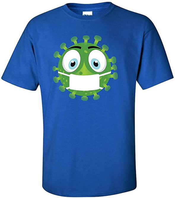 Coronavirus with Face Mask T-Shirt
