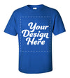 Design Your Own Print Text or Image T-Shirt - 100% Ringspun Cotton
